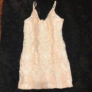Crochet Mini Dress